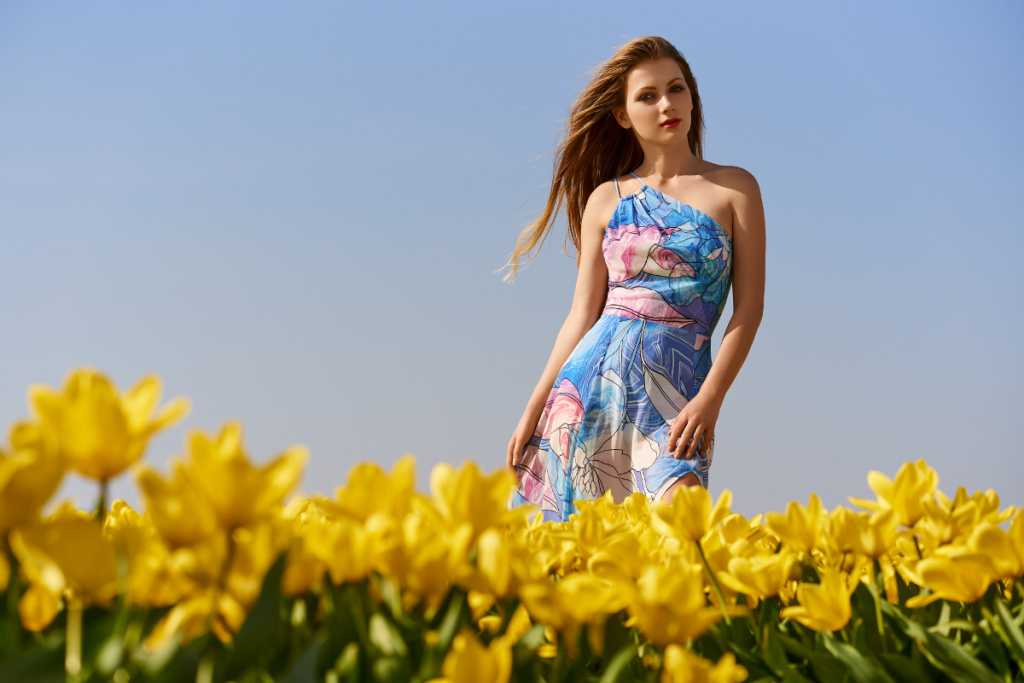 Dyskont Odzieżowy Tania Odzież – modelka Faustyna Mikoś