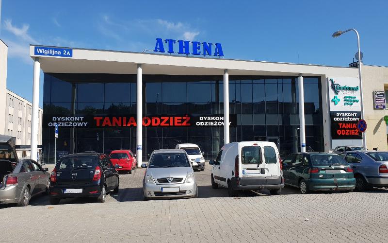 dyskont odziezowy Tania Odzież Lublin Athena