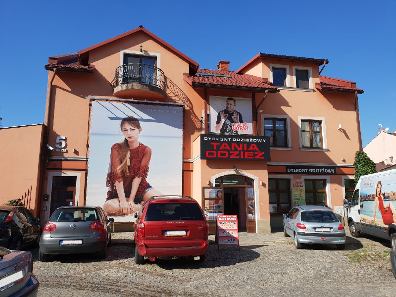 00161395bf Rzeszów – Dyskont Odzieżowy Tania Odzież – ul. Okrzei