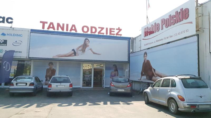 97131863c7 Krosno - Dyskont Odzieżowy Tania Odzież - ul. Kletówki
