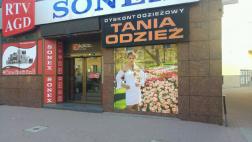Siedlce - Dyskont Odzieżowy Tania Odzież - ul. Pułaskiego