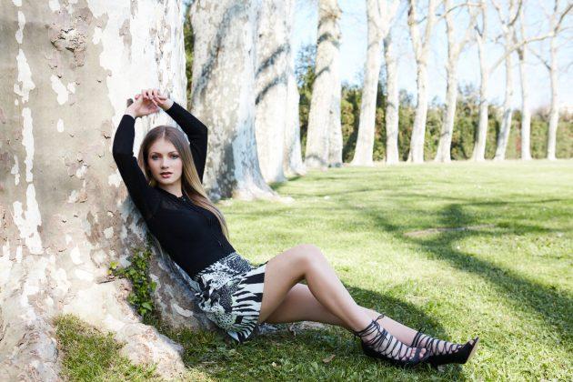 Dyskont odzieżowy Tania Odzież - modelka Faustyna Mikoś