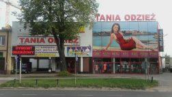 Siedlce - Dyskont Odzieżowy Tania Odzież - ul. 3-go maja